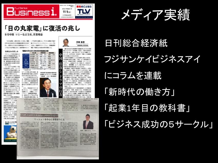 坂本憲彦公式サイト(メディア実績)